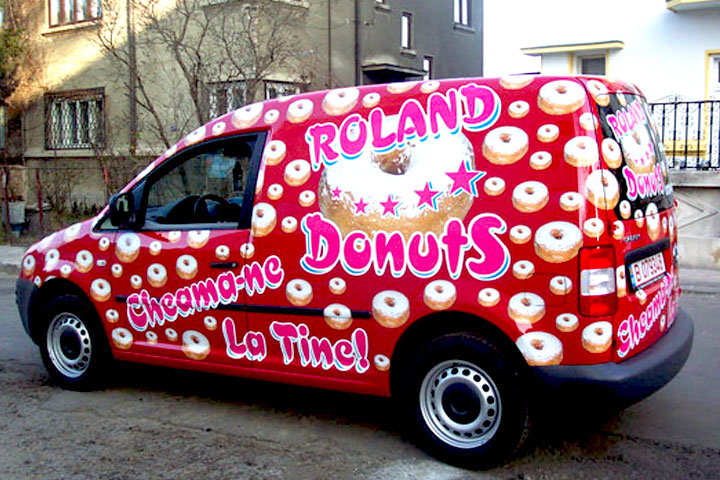 VW Caddy Roland Donuts