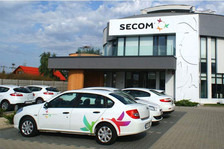 Autoturisme Renault Decorate Secom - print